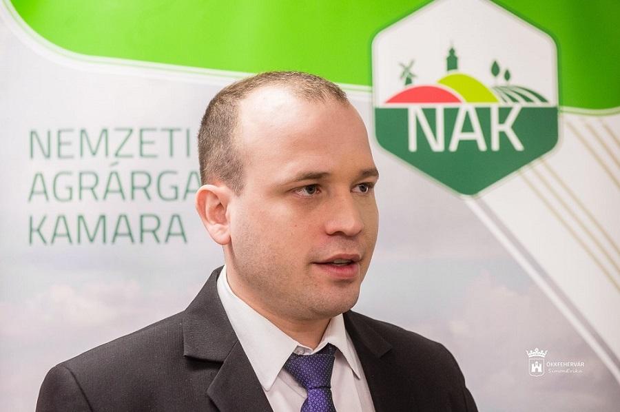 Varga Imre István - NAK Fejér megyei szervezetének elnöke
