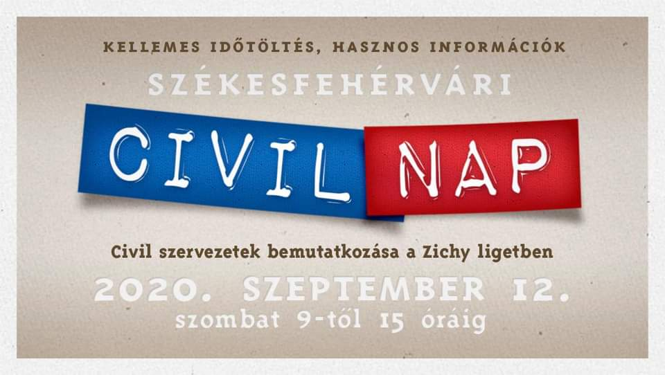 Találkozzunk a székesfehérvári Civil Napon!